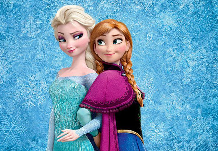 El creador ha optado por un diseño que le diferenciase de la versión cinematográfica al darle el papel central a un copo de nieve. (Contexto/Internet)