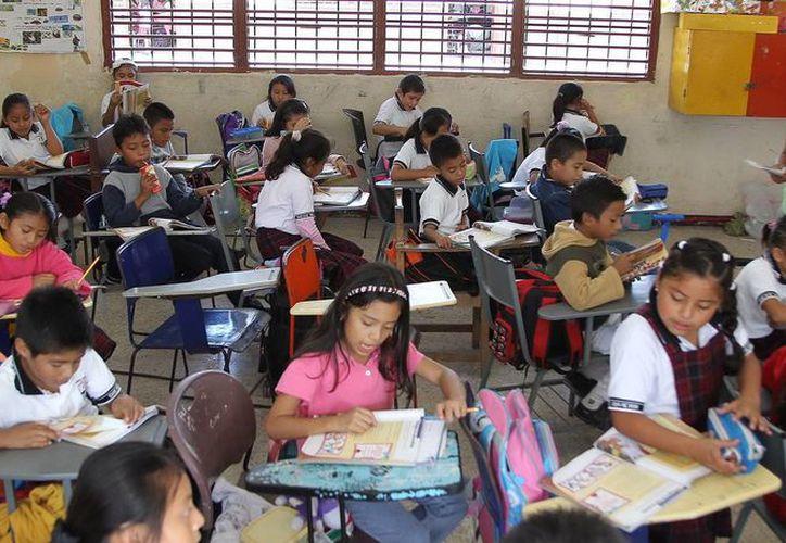 Los supervisores van a replicar estas acciones entre directores y  maestros de español para promover las habilidades lectoras en sus alumnos. (Redacción/SIPSE)