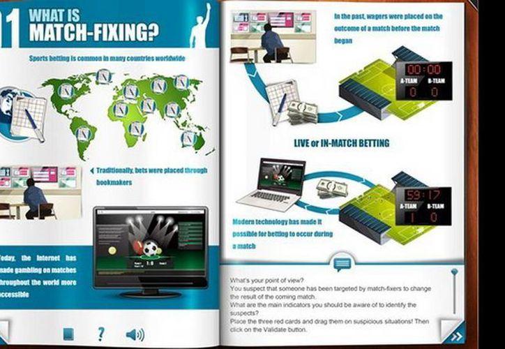 Los programas se encuentran en las páginas web de Interpol y FIFA. (interpol.int)