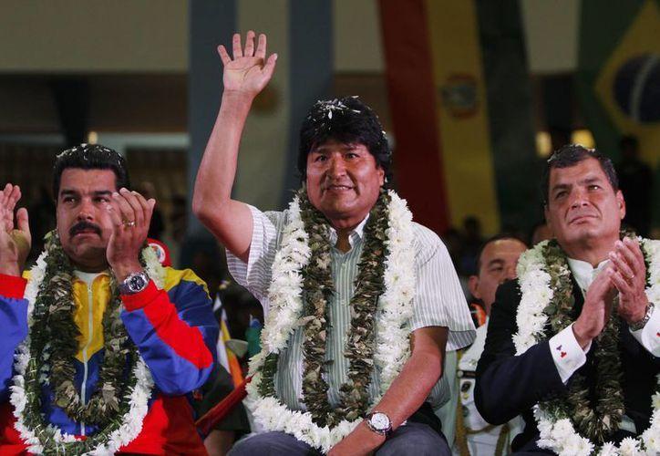 Morales refrendó que América Latina 'es antiimperialista'. (Agencias)