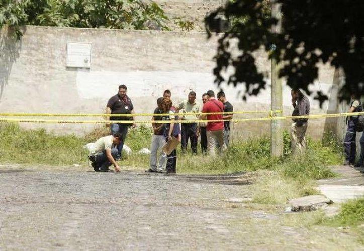 Imagen del sitio donde fue hallado el cadáver del médico yucateco, Fidel Francisco Sáenz Laviada, en Zapopan, Jalisco. (Milenio Novedades)