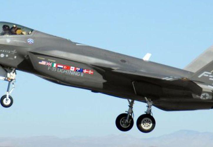 las naves tendrán cierta semejanza exterior con los aviones F-35 fabricados en EU. (wikipedia.org)