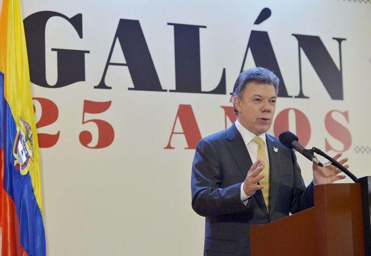 El presidente Juan Manuel Santos, en imagen de archivo, tampoco considera conveniente ampliar el periodo presidencial a cinco o seis años. (Foto: Notimex)