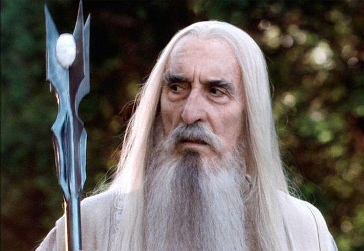 El intérprete de Saruman, en El señor de los anillos, falleció a los 93 años de edad a causa de problemas respiratorios y del corazón.  (AP)