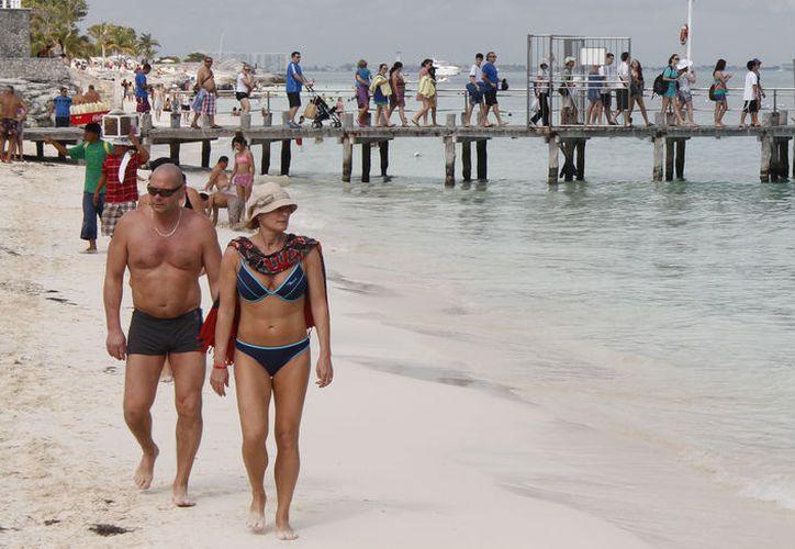 Los Baby Boomers constantemente viajan a este destino turístico. (Israel Leal/SIPSE)