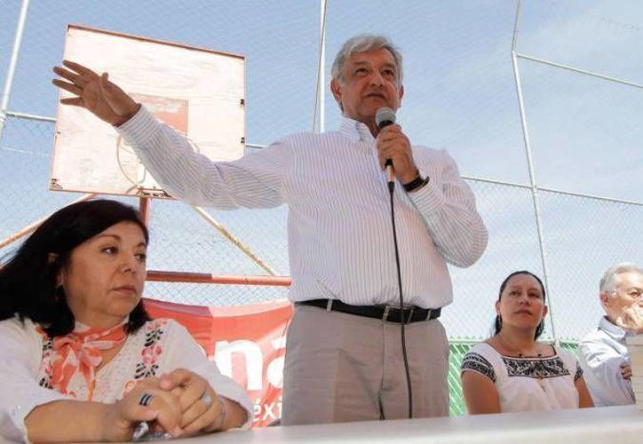Andrés Manuel López Obrador pidió castigo para los responsables del asesinato de Humberto Ortiz García,  ex dirigente de Morena. (Archivo/ Notimex)