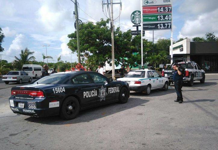 El taxista fue detenido por elementos de la Policía Federal. (Redacción)