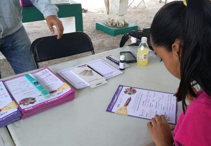 La delegación del INE en Quintana Roo proyectó una participación de 36 mil 207 niños. (Foto: Claudia Olavarría)