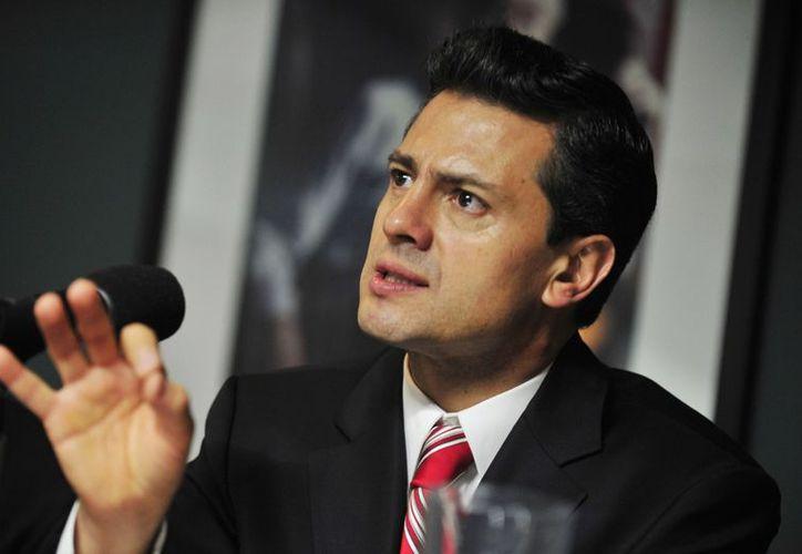 El Estado mexicano debe ser un regulador eficaz, imparcial y facilitador del desarrollo de las comunicaciones, subrayó Enrique Peña. (Archivo Notimex)