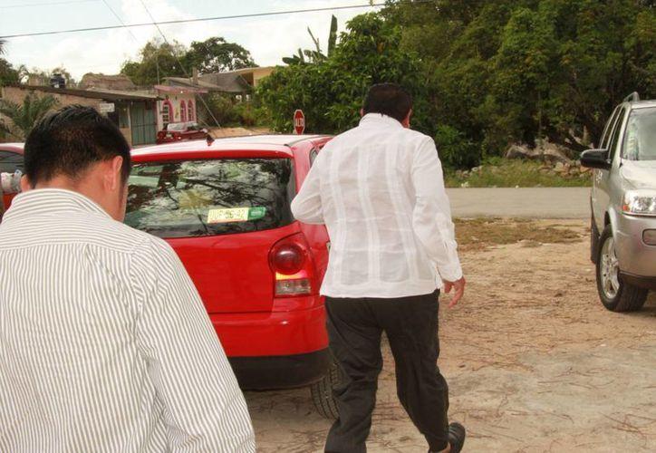 """El empresario asegura que el alcalde le ha dado la espalda: """"no me recibía ni las llamadas telefónicas"""". (Manuel Salazar/SIPSE)"""