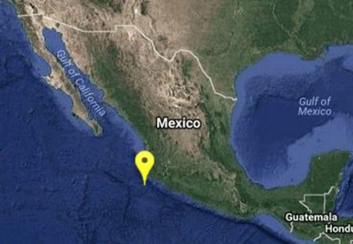 El epicentro tuvo lugar a 122 kilómetros al suroeste de Cihuatlán. (excelsior.com)