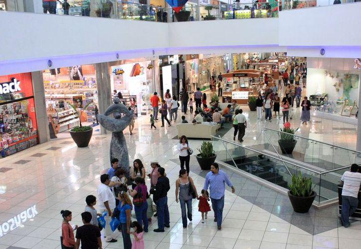 Los consumidores esperan más ofertas en plazas comerciales. (Milenio Novedades)