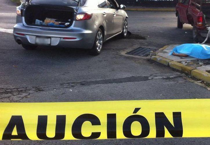 El caso de la colonia México es literalmente patético, en las confluencias de las calles 14 con 23, 25, 27 y 29 cada semana hay accidentes. La imagen se utiliza con fines estrictamente referenciales. (Archivo/SIPSE)