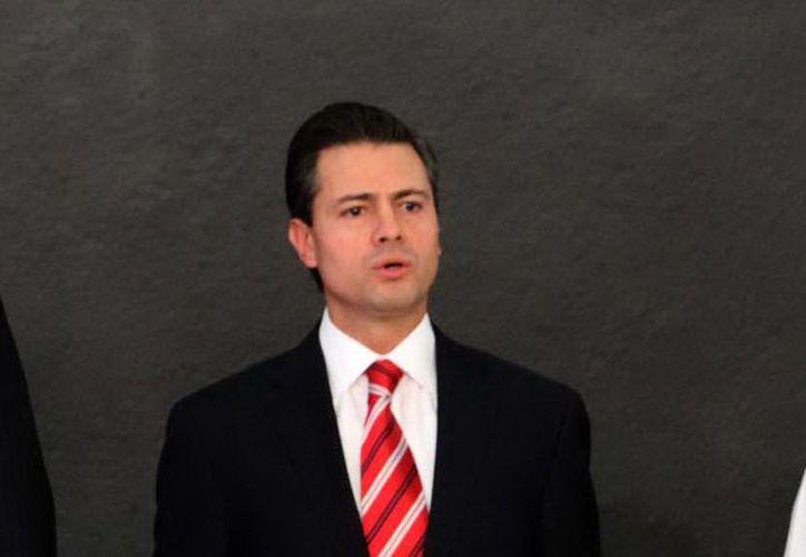 Peña Nieto destacó que el presupuesto en ciencia y tecnología aumentó un 15 por ciento. (Notimex)
