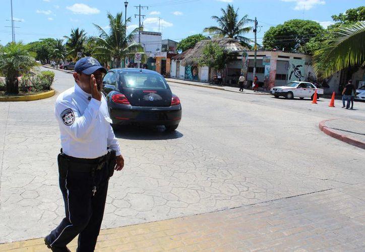 Los policías de Tulum recibirán este año un aumento salarial. (Sara Cauich/SIPSE)