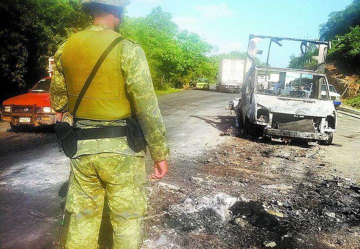 El Z-40 fue atrapado en un camino de Laredo, Tamaulipas. (Foto de contexto Milenio)