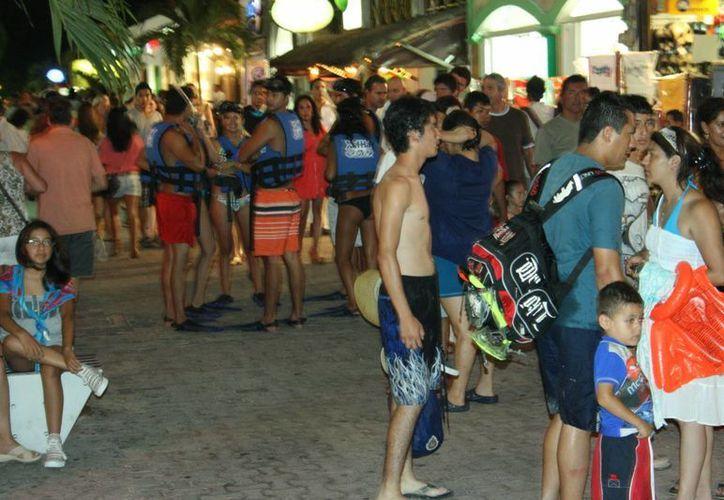 La llegada de turistas a la Riviera Maya en enero y febrero fue de más de 658 mil personas. (Adrián Barreto/SIPSE)