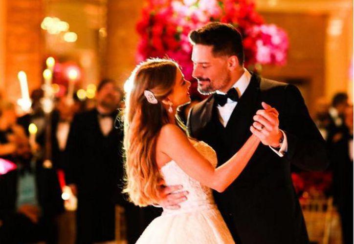 Sofía Vergara compartió 55 fotos de su boda con Joe Manganiello en sus redes sociales cómo un regalo especial para sus miles de seguidores.(instagram.com/sofiavergara)