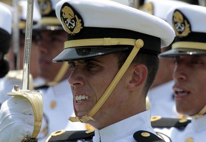 La Marina mexicana mantiene su reputación entre los ciudadanos: un 81.6 la identifica como la institución más confiable. (Archivo/Notimex)
