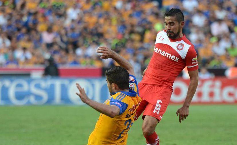 Toluca ganó 1-0 a Tigres de UANL, que venían de ganar la Copa de Campeones ante América y de calificar a la final de la Copa Libertadores. (Notimex)