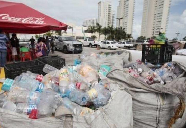 Durante está ocasión se obtuvieron más de 15 toneladas de residuos sólidos. (Redacción/SIPSE)