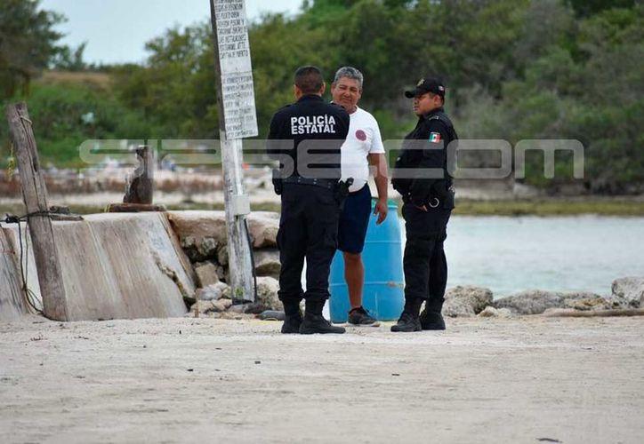Pescadores dieron aviso a las autoridades. (Foto: Gerardo Keb)