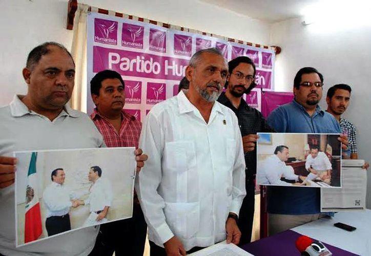 Eddie Guillermo E. Ríos critica proselitismo en el Ayuntamiento de Mérida. (Milenio Novedades)