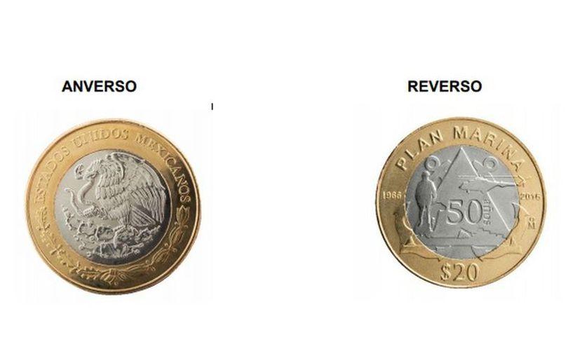 Banco de México señaló que la moneda conmemorativa es de curso legal. (milenio.com)