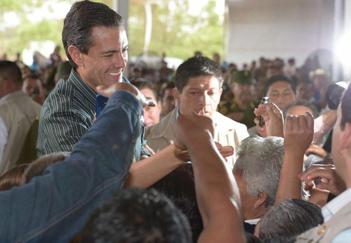 Enrique Peña Nieto informó que en 2015 se consolidarán las reformas estructurales del país. (Archivo/Notimex)