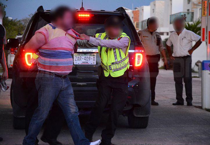 El arrestado estaba fichado en todo el país. (SIPSE)