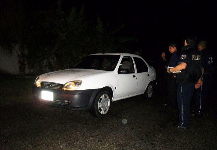 Las unidades fueron enviadas al corralón y a los conductores a las oficinas de Tránsito para el deslinde de responsabilidades. (Redacción/SIPSE)
