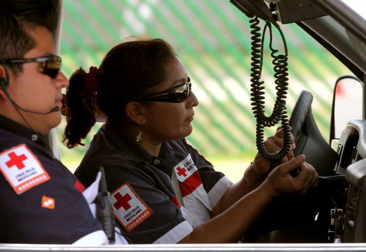 Ayer inició en esta ciudad un curso de capacitación para conductores de ambulancias de Chetumal, Felipe Carrillo Puerto y Playa del Carmen.  (Adrián Monroy/SIPSE)