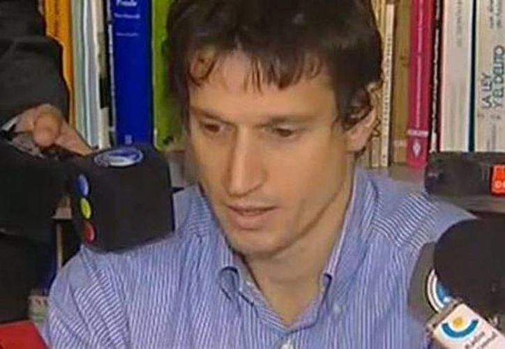 Diego Lagomarsino relató minuciosamente cómo y en qué circunstancias le entregó una pistola al fiscal. (Captura de pantalla de YouTube)