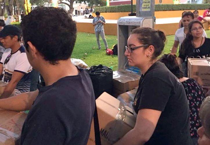 La Cruz Roja de Guatemala distribuirá los envíos de yucatecos. (Milenio Novedades)