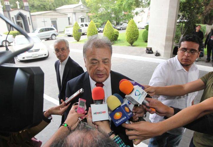 Imagen de archivo de Alberto Anaya, dirigente nacional del PT, quien dijo que el INE se precipitó innecesariamente al quitarles el registro. (Archivo/Notimex)