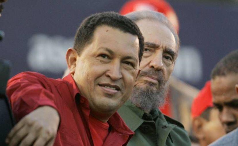 Fidel Castro dice que Chávez fue el mejor amigo que tuvo Cuba en su historia. (Agencias)
