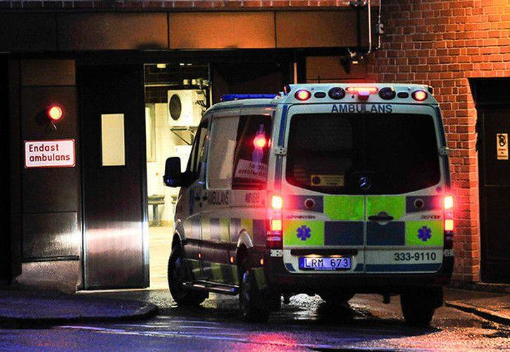 Un coche ha arrollado a un grupo de peatones cerca de una concurrida zona comercial en la provincia de Halland. (AFP).