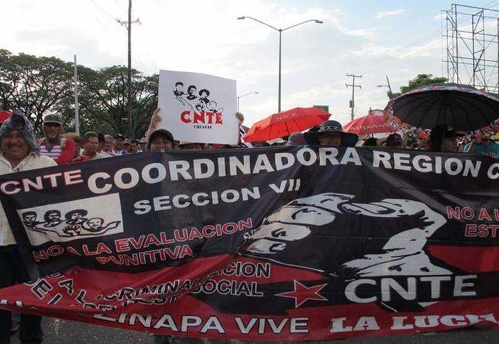 Los integrantes de la sección 7 realizarán asambleas delegacionales para informar sobre la situación de su movimiento. (twitter.com/psn_si)