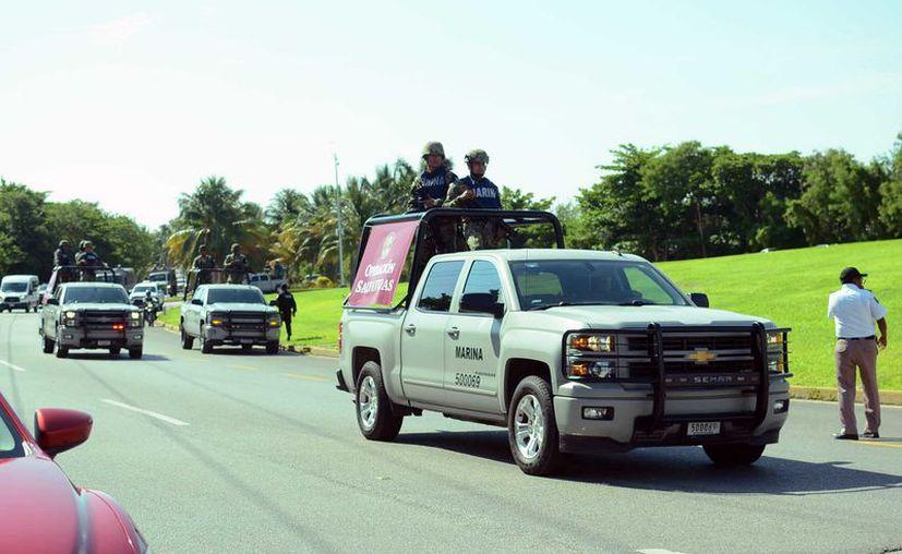 Los elementos de la Guardia Nacional iniciaron operaciones hace menos de un mes. (Karim Moisés/SIPSE)