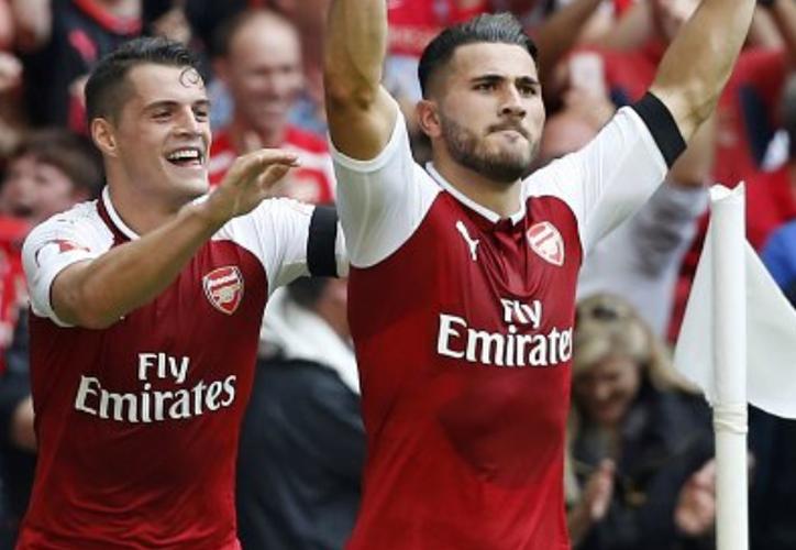 El Arsenal se adjudicó la Community Shield. (@SC_ESPN).