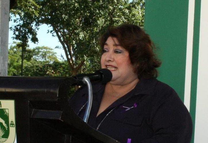 Rosario Cetina, directora del Indemaya, dijo que la  Cancillería Mexicana va solicitar una investigación del crimen cometido contra el yucateco Luis Demetrio Góngora Pat en San Francisco, California, Estados Unidos. (Milenio Novedades)