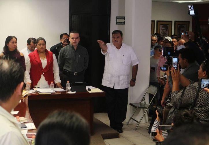 El nuevo jefe policiaco toma la corporación con limitantes en personal y equipamiento. (Adrián Barreto/ SIPSE)