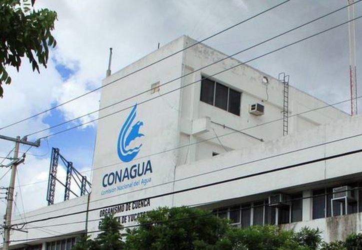 Oficinas de la Conagua, donde Verónica Franco Tonz, informó que a la fecha cerca de mil 200 personas ya recibieron instrucción y orientación sobre el cuidado del agua. (Milenio Novedades)