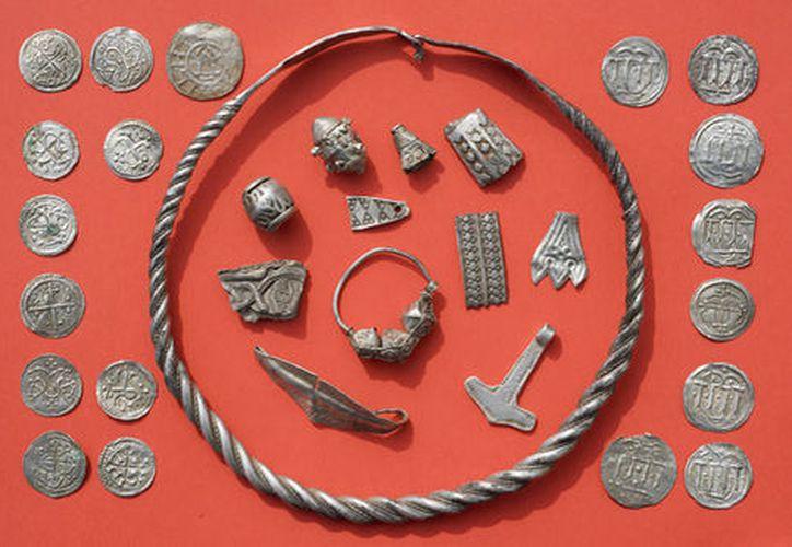 Recuperan tesoro vikingo en Alemania. (AP)