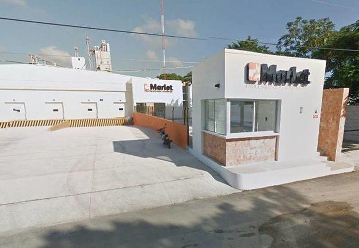 Una explosión se registró ayer en la planta de procesado de alimentos 'Marlet'. (Google Maps)