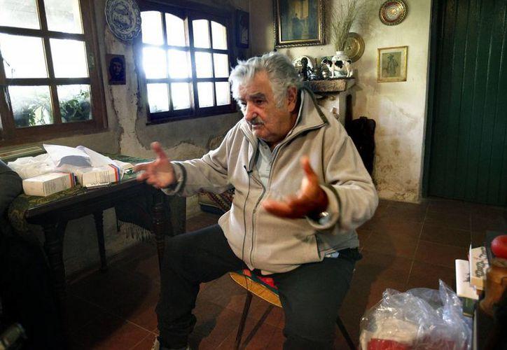 Una diputada opina que el monto del premio Nobel lo destinaría José Mujica (en imagen de archivo) a programas sociales .(EFE/Archivo)