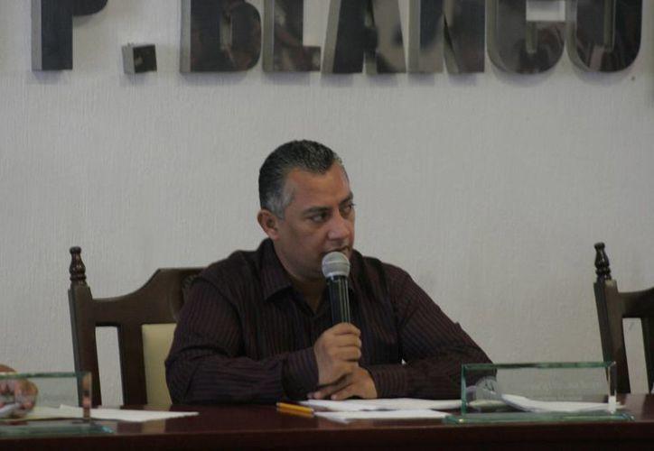 Carlos Mario Villanueva Tenorio aseguró que sin mayor retraso se llevará a cabo la exposición del gasto. (Harold Alcocer/SIPSE)