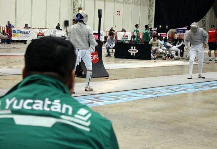 Los esgrimistas yucatecos han acumulado 16 medallas en la ON. (Milenio Novedades)