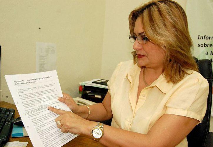 Alejandrina León Torres, destacó que los descuentos serán del 10 al 30 por ciento. (Milenio Novedades)