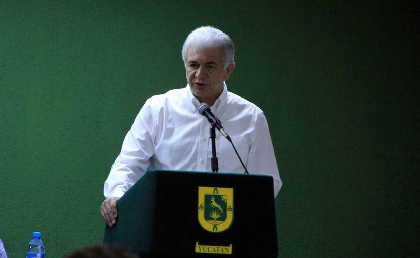 David Alpizar Carrillo, secretario de Fomento Económico. (Milenio Novedades)